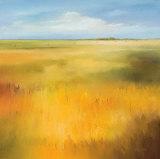 Hans Paus - Yellow Fields I Umělecké plakáty