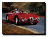 Alfa 1953 3000cm Limited Edition on Canvas by Paul Panossian