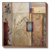 Propitious Bamboo II Limited Edition on Canvas by Don Li-Leger