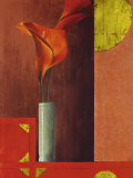 Still Life with Red Callas II Prints by Mira Latour