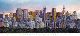 New York Skyline Prints by Hank Gans