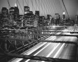 Manhattan at Night Prints by Trefor Ball
