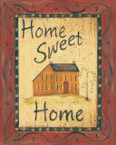 Home Sweet Home Posters by Jo Moulton