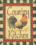 Country Kitchen Prints by Jo Moulton