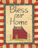 Bless Our Home Kunst av Jo Moulton