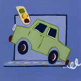 Kiddie Car Poster by Lynn Metcalf