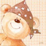 Pirate Ted Art par  Liv & Flo
