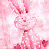 Bouncing Bunny Prints by Liv & Flo