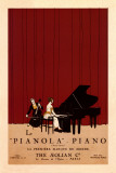 Le Pianola Poster by Susan W. Berman