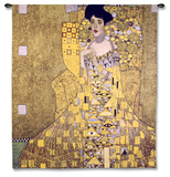 Adele Bloch Bauer I Wall Tapestry by Gustav Klimt