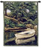 Barca y Pameras Wall Tapestry by Poch Romeu