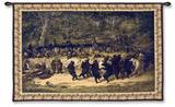 La danza del oso Tapiz por William Holbrook Beard