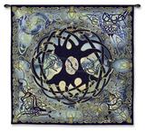 Tree of Life Wall Tapestry by Jen Delyth