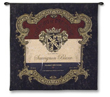 Chateaude Bretagne Wall Tapestry by  Escobedo