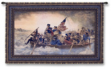 Washington Crossing the Delaware, c.1851 Wall Tapestry by Emanuel Gottlieb Leutze