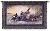 Washington Crossing the Delaware, c.1851 Wall Tapestry by Emanuel Gottlieb Leutze