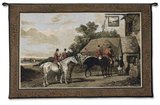 Returning from the Hunt Wall Tapestry by William Joseph Shayer