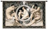 Idylle Wall Tapestry by Gustav Klimt