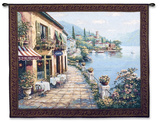Overlook Cafe I Wall Tapestry by Sung Kim