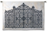 Louis XV Gate Wall Tapestry