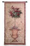 Rose Topiary II Wall Tapestry by Jill Schultz McGannon
