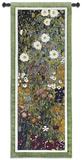 Jardín de flores Tapiz por Gustav Klimt
