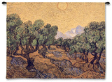 Olive Trees, c.1889 Wall Tapestry by Vincent van Gogh