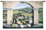 Vino de Tuscany Wall Tapestry by Barbara R. Felisky
