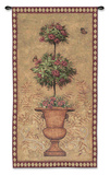 Rose Topiary I Wall Tapestry by Jill Schultz McGannon