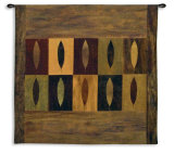 Ten Leaves Wall Tapestry by Earl Kaminsky