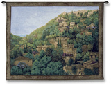 Vista de Deta Wall Tapestry by Montserrat Masdeu