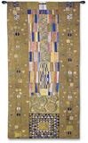 Fregio Stocklet Wall Tapestry by Gustav Klimt