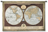 Mapa del mundo Tapiz por Mary Elizabeth