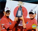 Hideki Okajima and Daisuke Matsuzaka Photo