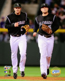 Troy Tulowitzki and Matt Holliday Photographie
