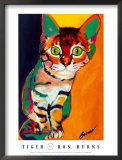 Cinquenta, Tigre Real Prints by Ron Burns