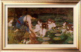Hylas and the Nymphs Posters by John William Waterhouse