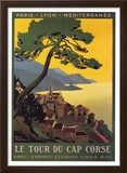 Tour Du Cap Corse Prints by Roger Broders