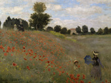 Poppy Field at Argenteuil, c.1873 Reproduction procédé giclée par Claude Monet