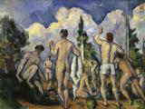 The Bathers, c.1890 Art by Paul Cézanne
