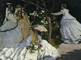 Women in the Garden, c.1867 Print by Claude Monet