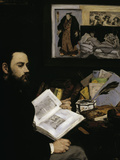 Emile Zola, c.1868 Giclee Print by Édouard Manet