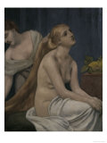 Lady at her Toilette, c.1883 Art by Pierre Puvis de Chavannes