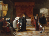 Mary Stuart's Death Sentence, c.1808 Giclee Print by Jean-baptiste Vermay