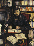 Gustave Geffroy, c.1895 Posters by Paul Cézanne