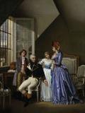 Josephine Visiting Her Husband Alexandre de Bauharnais Giclee Print by Jean Louis Victor Viger du Vigneau