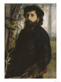Portrait of Claude Monet, c.1875 Giclee Print by Pierre-Auguste Renoir
