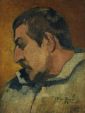 Self-Portrait, c.1896 Giclee Print by Paul Gauguin