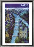 Paris Prints by Bernard Villemot
