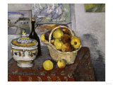 Still-Life with Tureen, c.1877 Giclee Print by Paul Cézanne